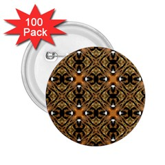Faux Animal Print Pattern 2 25  Button (100 Pack) by creativemom