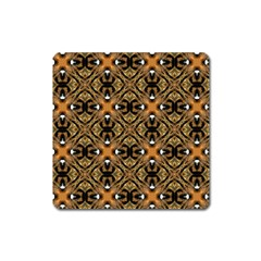 Faux Animal Print Pattern Magnet (square) by creativemom