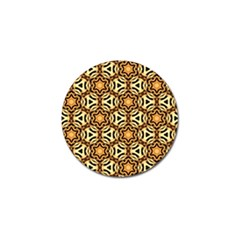 Faux Animal Print Pattern Golf Ball Marker by creativemom