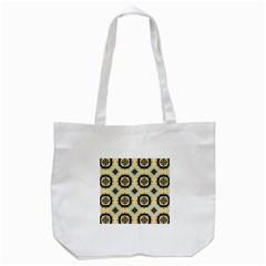 Faux Animal Print Pattern Tote Bag (white) by creativemom