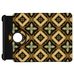 Faux Animal Print Pattern Kindle Fire HD Flip 360 Case by creativemom