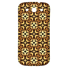 Faux Animal Print Pattern Samsung Galaxy S3 S Iii Classic Hardshell Back Case by creativemom
