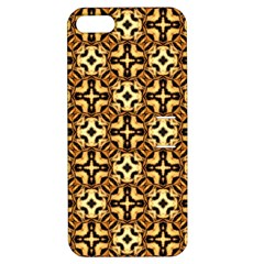 Faux Animal Print Pattern Apple iPhone 5 Hardshell Case with Stand by creativemom