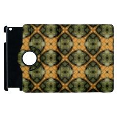 Faux Animal Print Pattern Apple Ipad 2 Flip 360 Case by creativemom