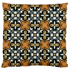 Faux Animal Print Pattern Large Cushion Case (two Sided)  by creativemom