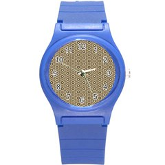 Cute Pretty Elegant Pattern Plastic Sport Watch (small) by creativemom