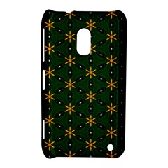Cute Pretty Elegant Pattern Nokia Lumia 620 Hardshell Case by creativemom