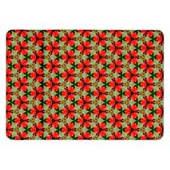 Cute Pretty Elegant Pattern Samsung Galaxy Tab 8 9  P7300 Flip Case by creativemom