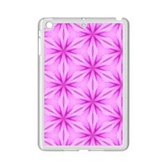 Cute Pretty Elegant Pattern Apple iPad Mini 2 Case (White) by creativemom