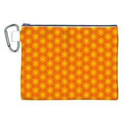 Cute Pretty Elegant Pattern Canvas Cosmetic Bag (xxl) by creativemom