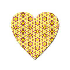 Cute Pretty Elegant Pattern Magnet (heart) by creativemom