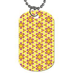 Cute Pretty Elegant Pattern Dog Tag (one Sided) by creativemom