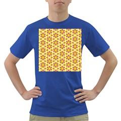 Cute Pretty Elegant Pattern Men s T Shirt (colored) by creativemom
