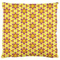 Cute Pretty Elegant Pattern Large Flano Cushion Case (one Side) by creativemom