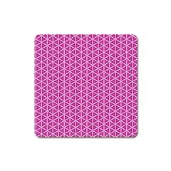 Cute Pretty Elegant Pattern Magnet (square) by creativemom