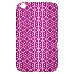 Cute Pretty Elegant Pattern Samsung Galaxy Tab 3 (8 ) T3100 Hardshell Case  by creativemom