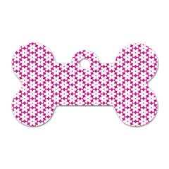 Cute Pretty Elegant Pattern Dog Tag Bone (two Sided) by creativemom