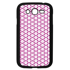 Cute Pretty Elegant Pattern Samsung Galaxy Grand DUOS I9082 Case (Black) by creativemom