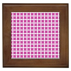 Cute Pretty Elegant Pattern Framed Ceramic Tile by creativemom