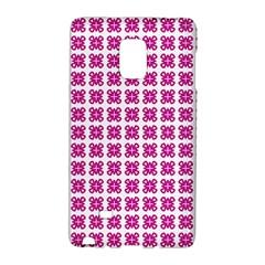 Cute Pretty Elegant Pattern Samsung Galaxy Note Edge Hardshell Case by creativemom