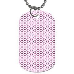 Cute Pretty Elegant Pattern Dog Tag (two Sided)  by creativemom