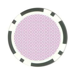 Cute Pretty Elegant Pattern Poker Chip by creativemom