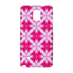 Cute Pretty Elegant Pattern Samsung Galaxy Note 4 Hardshell Case by creativemom