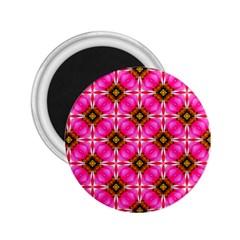 Cute Pretty Elegant Pattern 2 25  Button Magnet by creativemom
