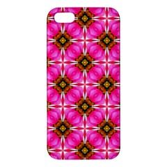 Cute Pretty Elegant Pattern Iphone 5s Premium Hardshell Case by creativemom