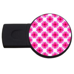 Cute Pretty Elegant Pattern 2gb Usb Flash Drive (round) by creativemom