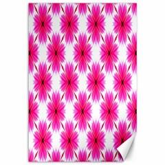 Cute Pretty Elegant Pattern Canvas 12  X 18  (unframed) by creativemom