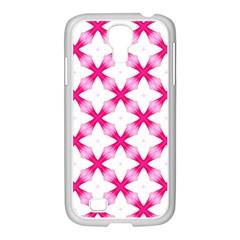 Cute Pretty Elegant Pattern Samsung Galaxy S4 I9500/ I9505 Case (white) by creativemom