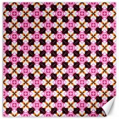 Cute Pretty Elegant Pattern Canvas 16  X 16  (unframed) by creativemom