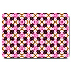 Cute Pretty Elegant Pattern Large Door Mat by creativemom