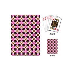 Cute Pretty Elegant Pattern Playing Cards (mini) by creativemom