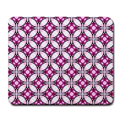 Cute Pretty Elegant Pattern Large Mouse Pad (rectangle) by creativemom