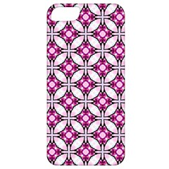 Cute Pretty Elegant Pattern Apple Iphone 5 Classic Hardshell Case by creativemom