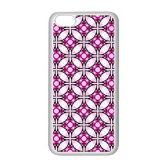 Cute Pretty Elegant Pattern Apple Iphone 5c Seamless Case (white) by creativemom