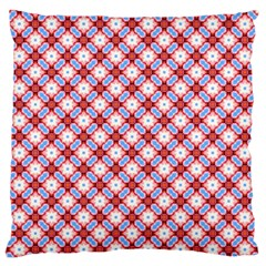 Cute Pretty Elegant Pattern Large Flano Cushion Case (two Sides) by creativemom