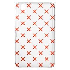 Cute Pretty Elegant Pattern Samsung Galaxy Tab Pro 8 4 Hardshell Case by creativemom