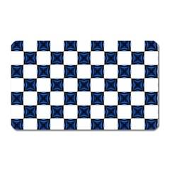 Cute Pretty Elegant Pattern Magnet (rectangular) by creativemom