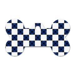 Cute Pretty Elegant Pattern Dog Tag Bone (two Sided) by creativemom