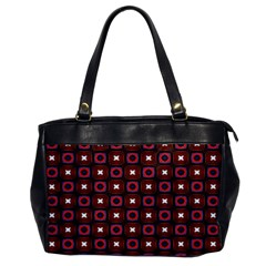 Cute Pretty Elegant Pattern Oversize Office Handbag (one Side) by creativemom