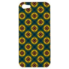Cute Pretty Elegant Pattern Apple Iphone 5 Hardshell Case by creativemom