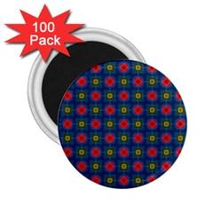 Cute Pretty Elegant Pattern 2 25  Button Magnet (100 Pack) by creativemom
