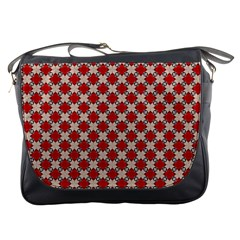 Cute Pretty Elegant Pattern Messenger Bag by creativemom