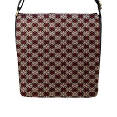 Cute Pretty Elegant Pattern Flap Closure Messenger Bag (large) by creativemom