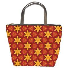 Cute Pretty Elegant Pattern Bucket Handbag by creativemom