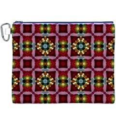 Cute Pretty Elegant Pattern Canvas Cosmetic Bag (xxxl) by creativemom