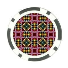 Cute Pretty Elegant Pattern Poker Chip (10 Pack) by creativemom
